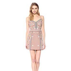 French Connection bijou stitch cami mini dress